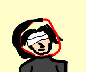 bandaged Itachi in the hood