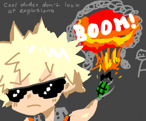 cool dudes dont look at explosions