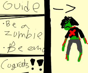 guide to becoming an emo zombie