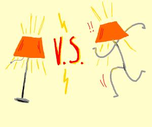 A lamp Vs Lampert