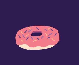 a donut