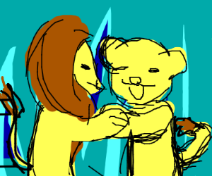 mufasa and pumbaa had a fusion dance