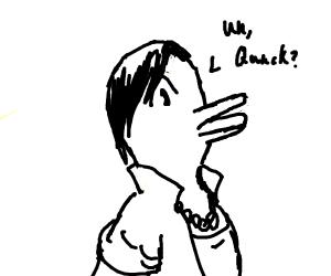 Duck human