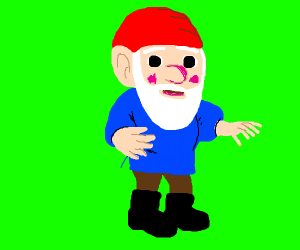 Getting gnomed greenscreen