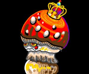 the glorious mushroom king