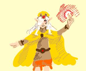 Yellow magican