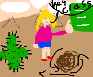 Teacher in the Desert