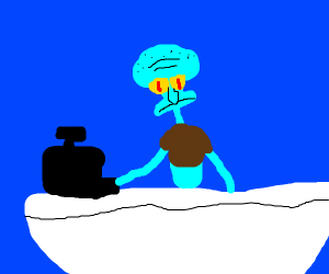 Squid Cashier