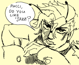 dio bee asks pucci if he likes jazz