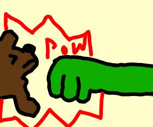 Dog Hater hits dog