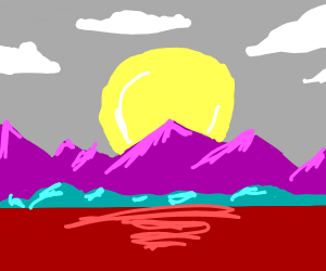 Purple Mountain Tops Are Majestic