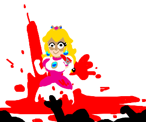 Princess peach killed everyone