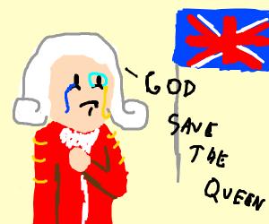 A patriotic english guy