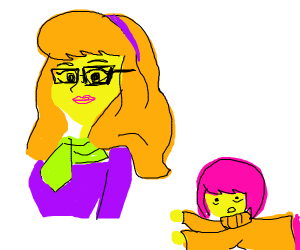 Daphne stole Velma's glasses