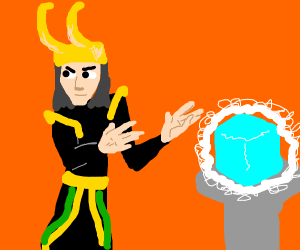 loki stealing the tesseract agian