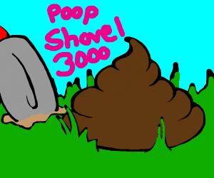 poop shovel 3000