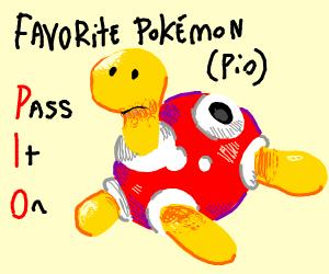 Favorite Pokemon (PIO)