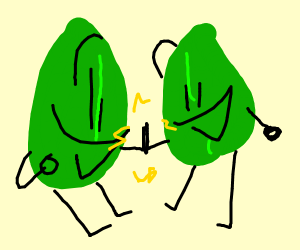 Living leaves are bros