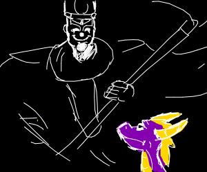 Grim Reaper has just killed Spyro