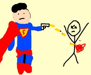 Superman kills naked man ;-;