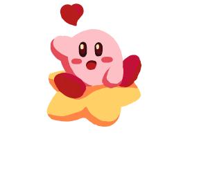 Kirby is in LOVE