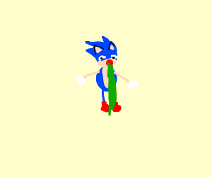 Incomplete Sonic vomiting