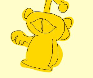 Golden reddit alien