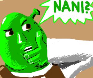 Green Person says Nani