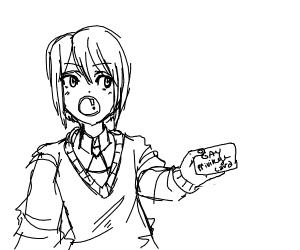 anime girl has gay privilege