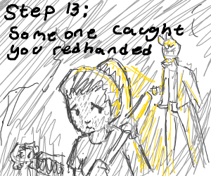 Step 12: bury the bodies with regret