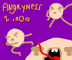 angry pancakes