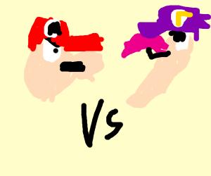 Mario VS Waluigi (God)