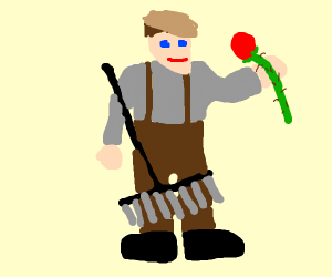 Romantic Janitor