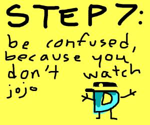 Step 6: make half of featured Drawceptio Jojo