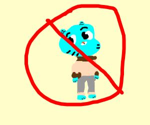 No gumballs allowed