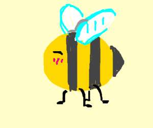 Cute lil bumble bee
