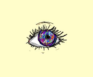 Acid Trip in an eye