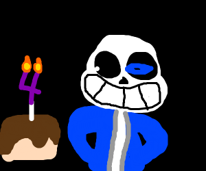 Sans' 4th Birthday