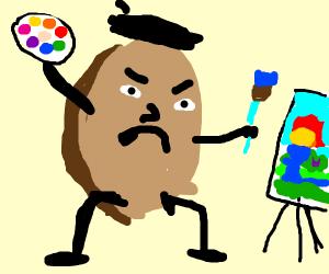 Artistic Potato