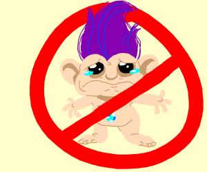 Step 1: ban the trolls