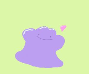A happy Ditto