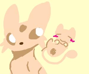 Blushing Mew