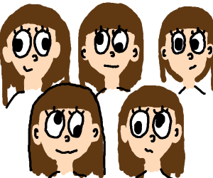 Five sisters with strabismus