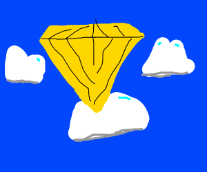 Yellow Diamond is a clod