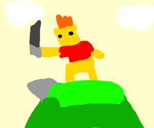 Winnie the Pooh Conquering