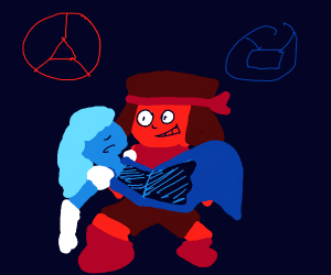 ruby and sapphire from steven universe