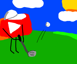 YouTube Playing Golf