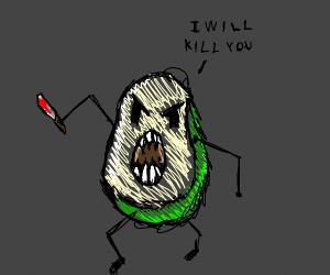 Spooky Scary Avocados