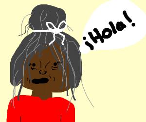 spanish black old people