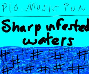Music pun PIO